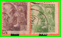 ESPAÑA SELLOS DE FRANCO AÑO 1940 - 1931-50 Usados