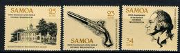 1982 - SAMOA - Mi. Nr. 473/475 - NH - (CW2427.13) - Samoa