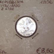 Repubblica Italiana 2 Lire 1956 SPL - 2 Lire