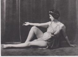 CPM 10X15 . REPRODUCTION . Danse . Isadora DUNCAN . Phot. Arnold Genthe  1916 - Tanz
