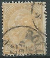 1863-65 REGNO USATO EFFIGIE 10 CENT TIRATURA TORINO - S17-14 - Usati