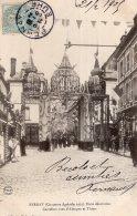 V6416 Cpa 27 Bernay - Concours Agricole 1903, Porte Décorative Carrefour Rues D'Alençon Et Thiers - Bernay