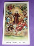 N° 444 Egim - S.ROSA Da VITERBO - Santino Recente Ed.G Mi - Images Religieuses