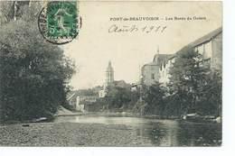 Pont De Beauvoisin Les Bords Du Guiers 1911 - France