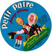 ETIQUETTE VERS 1960 ? PETIT PATRE / FROMAGERIES ROUSTANG LOISEY / MEUSE - Fromage