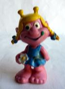 FIGURINE SNIKS SNIKSE ROSE 1975 - Figurines