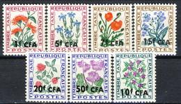 Reunion Tasse 1964 - 65, 1971 Serie N. 48-54 MNH Cat. € 5.75 - Postage Due