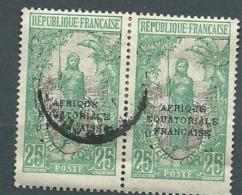 Congo Français  - Yvert N°79   Paire  Oblitéré  - Cw20102 - Congo Francese (1891-1960)