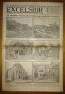 Excelsior 2825 14/08/1918 Les Premières Photos Prises Dans Montdidier Reconquis - Les Avancées De Lassigny - Autres