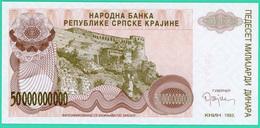 50 000 000 000 Dinara - Croatie - 1993 - Neuf - N° A0084066 - - Croatie