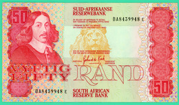 50 Rand - Afrique Du Sud - N° BA 8439948E - Spl - 1984 - - Suráfrica