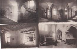 Lot 8 CPA La Grâce Dieu Abbaye Cistercienne Cloitre Eglise Autel Majeur Sanctuaire Solarium Chapitre Cascade - Francia