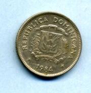 1984  10 CENTAVOS - Dominicaine