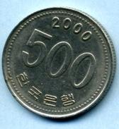 2000  500 WON - Corée Du Sud