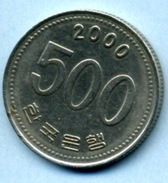 2000  500 WON - Korea, South