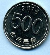 2016 500 WON - Korea, South