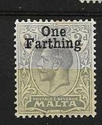 1922 MH Malta - Malta