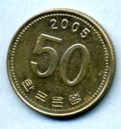 2005 50 WON - Corée Du Sud