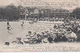 Epinal - Courses Vélocipédiques Du 7 Juin 1903 - A Toutes Pédales ( Cyclisme Cycliste ) RARE !!! - Epinal