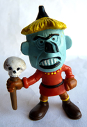 FIGURINE LUCKY LUKE COMIC SPAIN 1984 SORCIER TBE (3) - Figurines