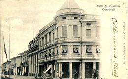 ECUADOR - GUAYAQUIL CALLE DE PICHINCHA 1904 - Ecuador