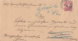 DR Brief EF Minr.41 Tarnowitz 21.7.88 Gel. Nach K2 Friedrichshütte Und Zurück Irrläufer Ansehen !!!!!!!!!! - Lettres & Documents