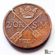 Suecia - 2 OR S.M. - 1748 - Schweden