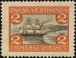 Danish West Indies Scott #38, 1905, Never Hinged - Antillen