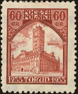 Polish Republic Scott #B28, 1933, Never Hinged - Unused Stamps
