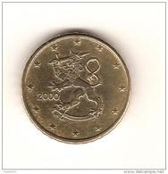 FINLANDE  2000 / Une Pièce De 10 Centimes, 10 Cents, 0.10 €ur/ CIRCULEE / Très  Bon Etat - Finlande