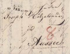 Brief L2 Ried (Inntal)17.2.1822 Mit Inhalt Ansehen !!!!!! - Deutschland