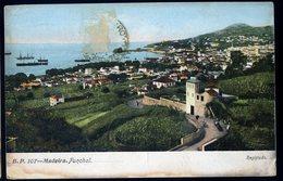 Cpa  Madeire Madeira Funchal    GX52 - Madeira