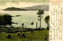 ARGENTINA - NEUQUEN - PUERTO BUENO LAGO NAHUEL HUAPI 1906  Arg46 - Argentina