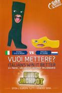 Lotto Di N. 4 Cartoline PUBBLICITARIE -  EUROJAKPOT - Anno  2014 - Manifestazioni
