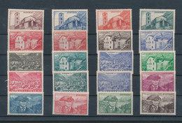 ANDORRE (Français) - Paysages Yvert N° 100 à 118 Neufs MNH ** 20 Valeurs Cote 46,50€