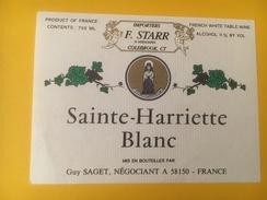 3310 - Sainte-Harriette Blanc - Blancs