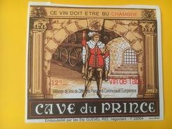 3317 - Cave Du Prince Vin De Table - Rouges