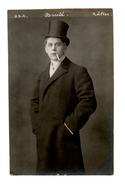 """2 Cartes De L'acteur """" Brulé """" Edition : G.D.E.  Râfles 1907 Photos Argentique  Bordeaux / Neuilly Sur Seine - Artisti"""