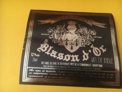 3325 - Cuvée De L'Hôteé Blason D'Or - Rouges