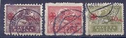 170026847  POLONIA  YVERT    Nº  231/4  (EXCEPT  Nº 233) - 1919-1939 Republik
