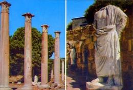 Marble Forum Sculpture - Salamis - 222 - Formato Grande Non Viaggiata - E - Cipro