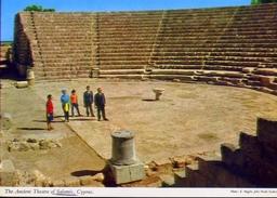 Cyprus - Ancient Theatre Of Salamis - Formato Grande Non Viaggiata - E - Cipro