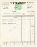 L AIGLE ORNE LE REVEIL NORMAND IMPRIMERIE PAPETERIE ENVOYE A SAINT GERMAIN DE LA COUDRE  ANNEE 1964 - France