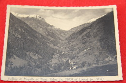 Vallone Di Massello Con I Monti Pelvou Ed Eiminal 1951 Torino - Italie