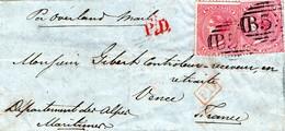 Lettre De 1862 De L'Ile MAURICE Pour La France - Mauritius (1968-...)