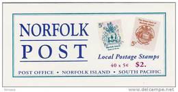 Norfolk Islands-1996 Coats Of Arms   Booklet - Norfolk Island