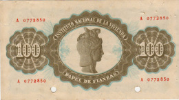 PAPEL DE FIANZA   INSTITUT0 NACIONAL DE LA VIVIENDA  AÑO 1939-40 - Cheques & Traverler's Cheques
