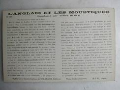 SCENES ET TYPES - L'anglais Et Les Moustiques - Monologue Par Achille Bloch - Humour