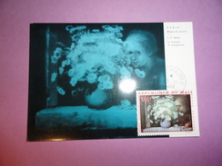 CARTE MAXIMUM CARD LE BOUQUET DE MARGUERITES PAR J-F MILLET MALI - Impressionisme