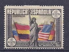 170026889  ESPAÑA  EDIFIL   Nº  763  */MH  (CON PELADURA)  (WITH PEELING) - 1931-50 Nuevos & Fijasellos